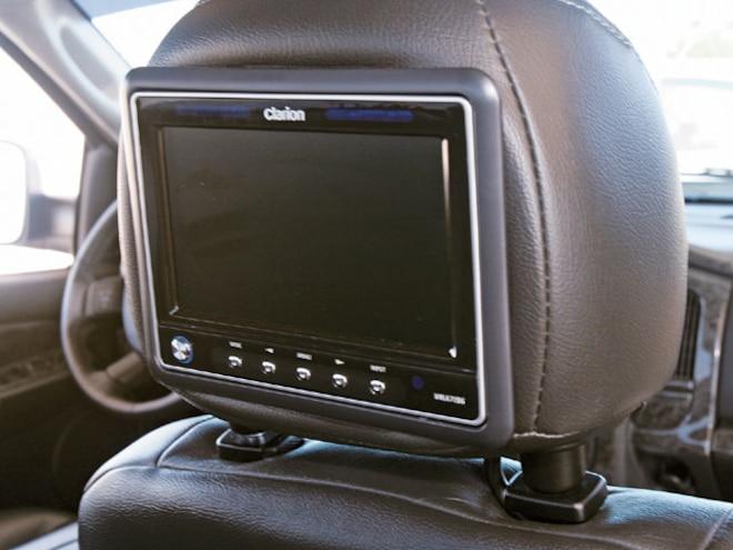 2004 Dodge Ram 3500 Dualie interior Headrest Screen