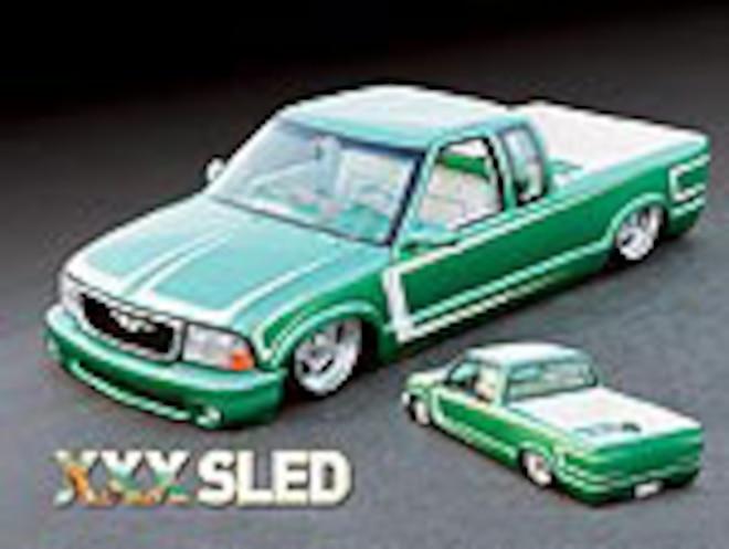 Custom 1996 Chevrolet S-10 - XXX Sled