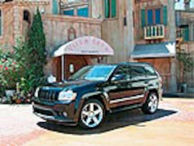 2006 Jeep Grand Cherokee SRT8 - Road Test