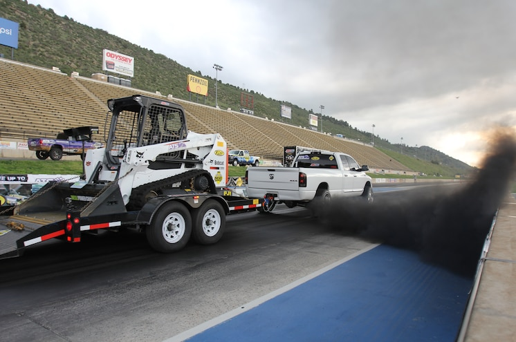Dpc2015 Diesel Power Challenge Winner Lavon Miller Trailer Drag Race Record Setting Run