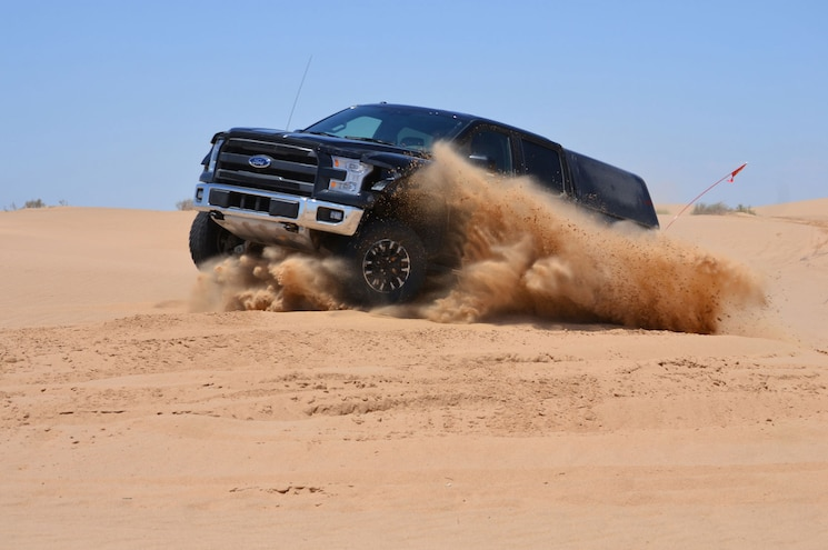 2017 Ford F-150 Raptor Undergoes First Round of Desert Testing
