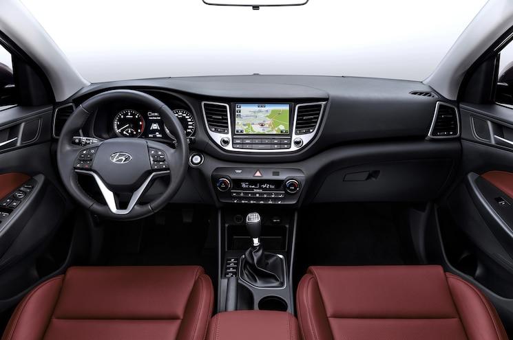 European Spec 2016 Hyundai Tucson Interior
