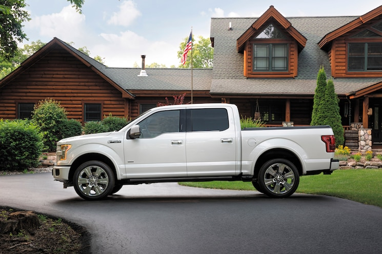 2016 Ford F 150 Limited Side Profile