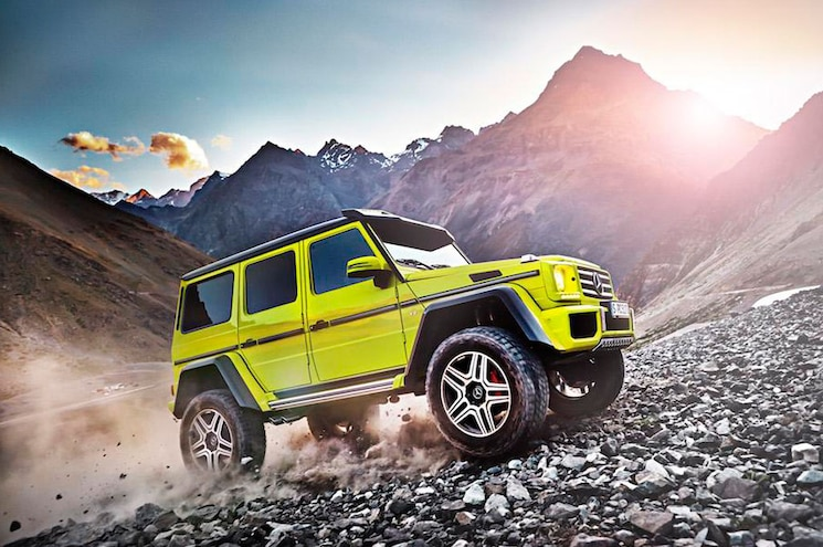 Mercedes-Benz G500 4x4-2 Going Into Production Immediately