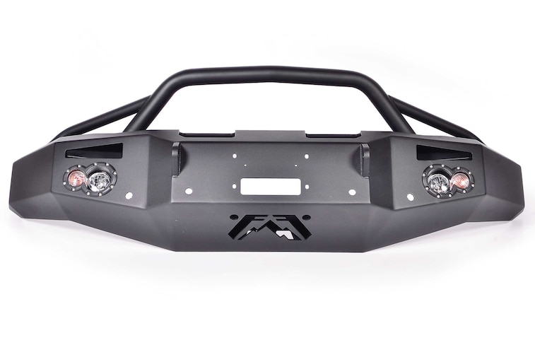 Sema 2014 Products Fab Fours Front Winch Bumper