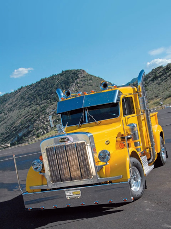 Peterbilt 359 Dodge Ram - Big Rig - Diesel Power Magazine