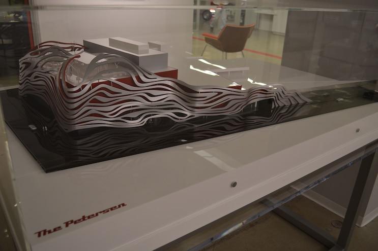 New Petersen Museum Model