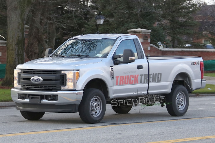 SPIED: 2017 Ford F-350 Regular Cab Long Bed XL!