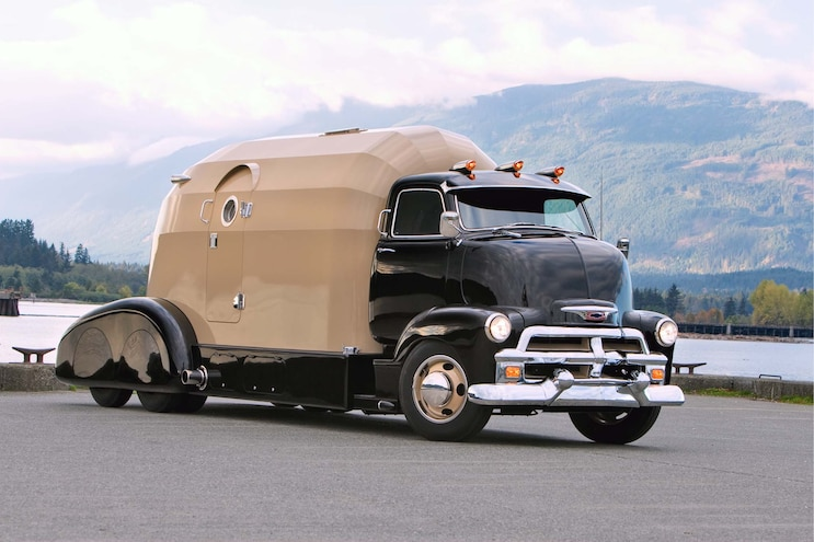 1954 Chevy Cab-Over is the Ultimate in Living Quarters