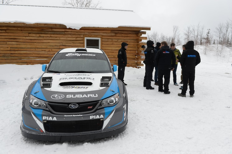2014 Subaru WRX STI Rally America Race Car Front End