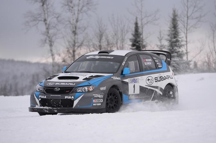 First Slide: 2014 Subaru WRX STI Rally America Race Car