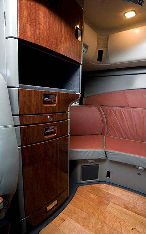 International LoneStar Interior Sleeper Cab. View Photo Gallery | 16 Photos