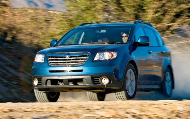 2008 Subaru Tribeca Road Test Truck Trend