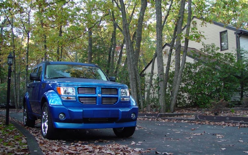 2007 Dodge Nitro Rt front Grille View