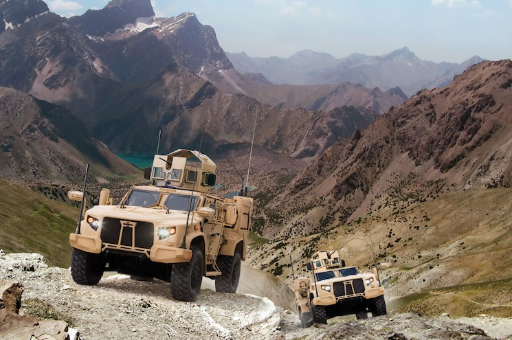 Oshkosh Wins U.S. Army Contract for Joint Light Tactical Vehicle