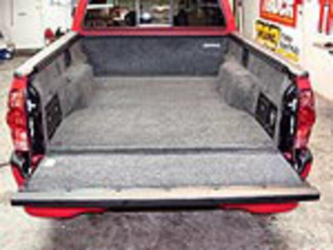 toyota tacoma bedrug install sport truck magazine truck trend