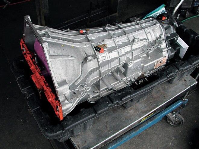 ford Power Stroke transmission