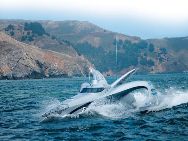 globe Trotter Biodiesel Trimaran cruising