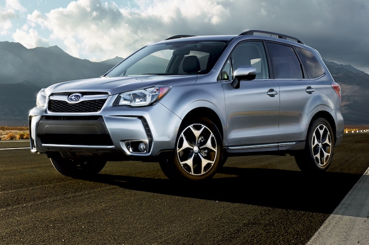 2015 Subaru Forester Front Side View