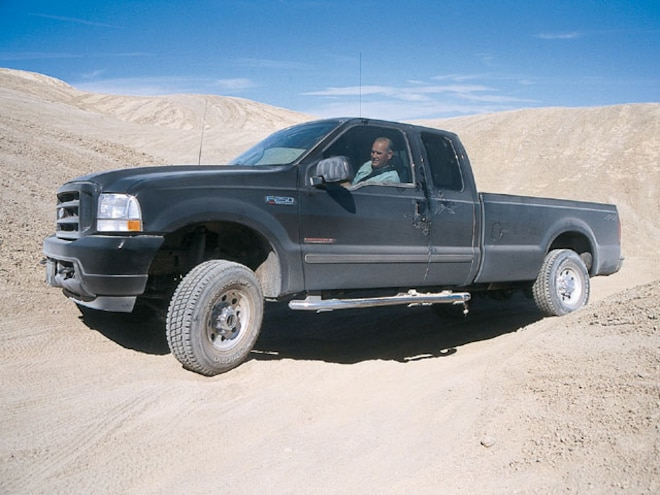 2003 Ford F250 Power Stroke side View