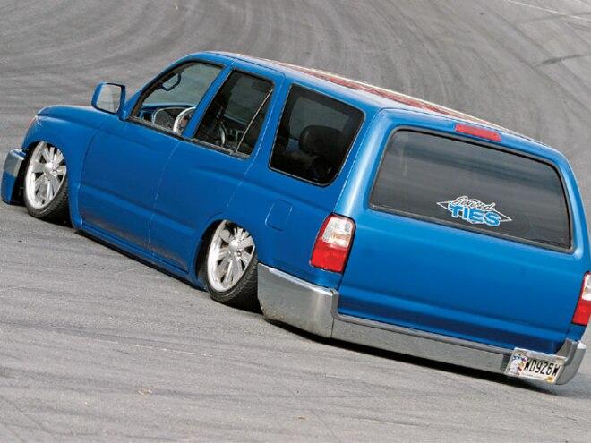custom 1996 toyota 4runner mini suv mini truckin magazine truck trend