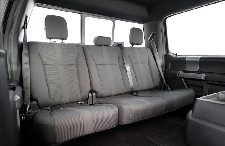 2015 Ford F 150 Rear Seats