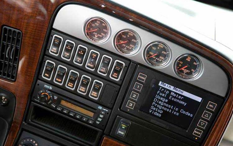 International LoneStar interior Dash Close Up. View Photo Gallery | 16 Photos