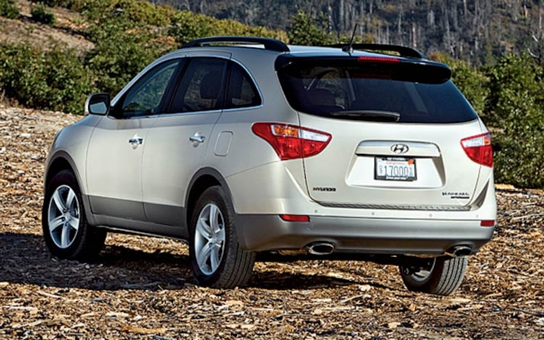 2008 Hyundai Veracruz rear View