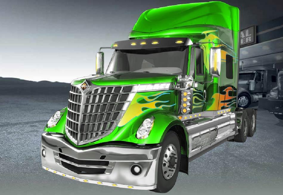 Build your very own custom International big rig - Auto ...