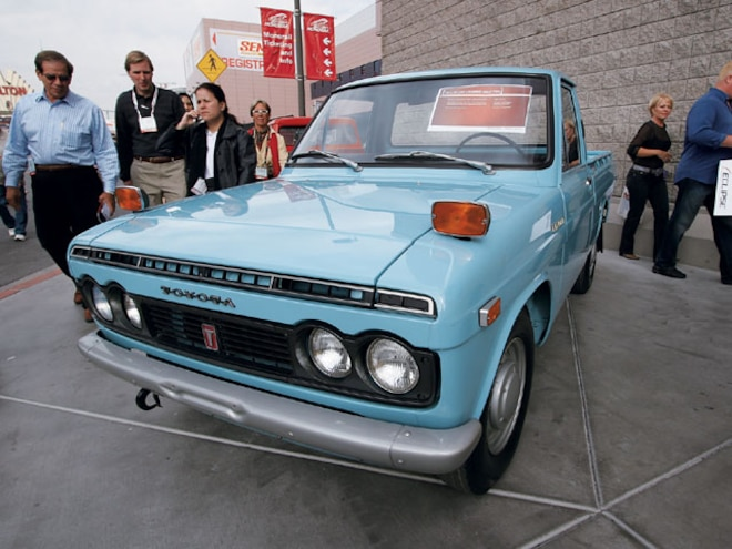 1971 Toyota Hi Lux front View