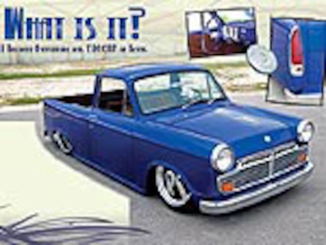 Custom 1964 Datsun NL320 - What Is It?