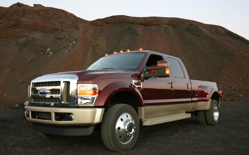 2008 Motor Trend TOTY Contender: 2008 Ford F-450 4x4 King Ranch Photo Gallery