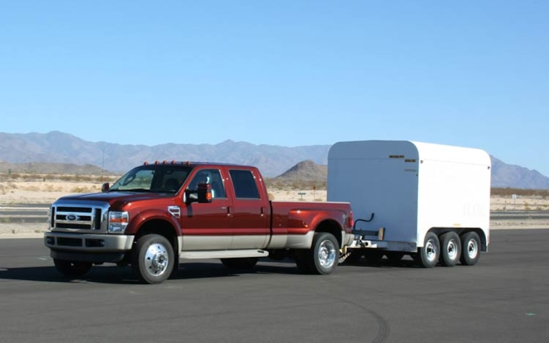 2008 Ford F450 4x4 King Ranch front View