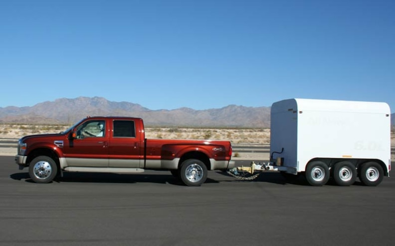 2008 Ford F450 4x4 King Ranch side View