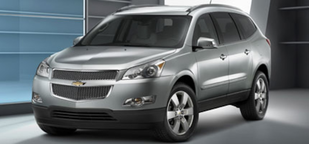 2009 Chevrolet Traverse crossover makes Chicago show debut