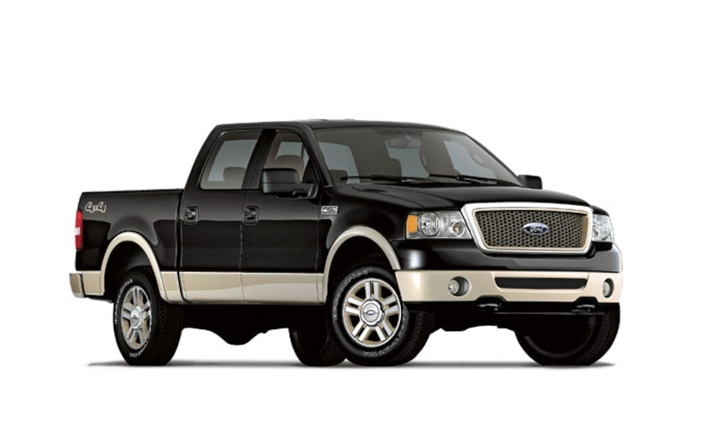 2008 Ford F Series front View