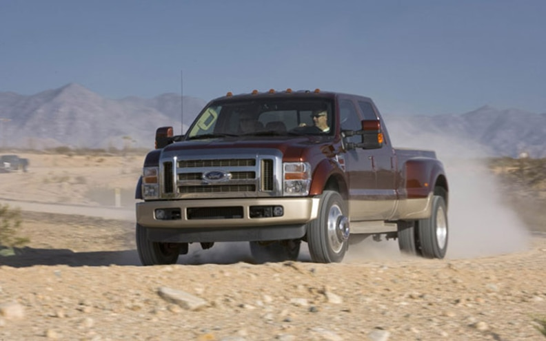 2008 Ford F Series Super Duty front View