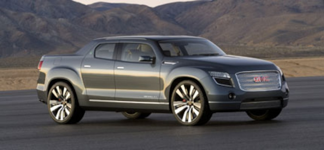 2008 Gmc Denali Xt Concept Future Concept Truck Trend