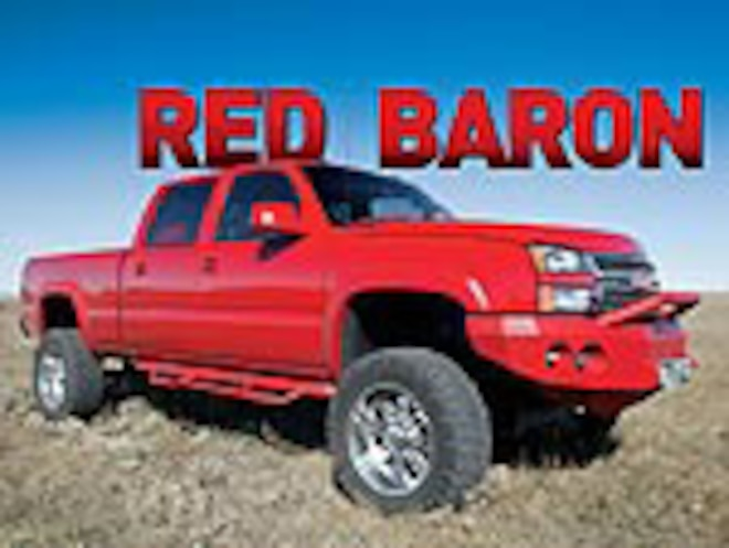 2005 Chevrolet 2500 HD Crew Cab - Red Baron