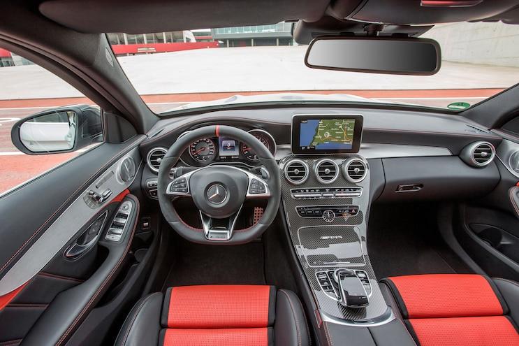 2015 Mercedes AMG C63 S Interior View