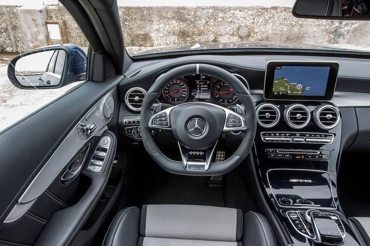 2015 Mercedes AMG C63 S Cockpit