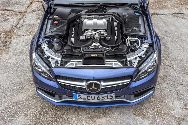 2015 Mercedes AMG C63 S Engine