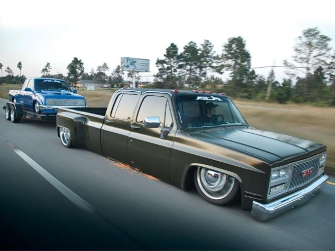 1989 Gmc hauling
