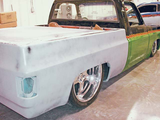 1980 Chevrolet C10 rear Passenger Side View