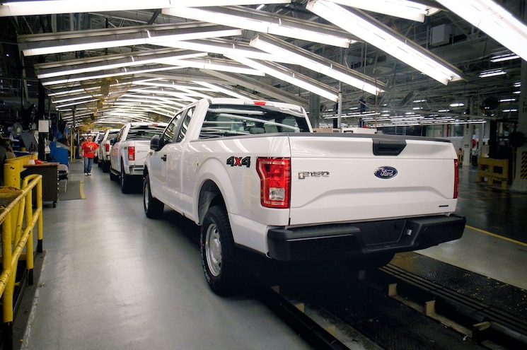 2016 Ford F 150 Gaseous Fuel Prep Pack Rear Quarter Assembly Line