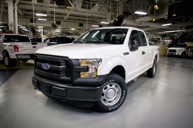 First Propane and CNG-Capable 2016 Ford F-150 Rolls Off Line in Kansas City