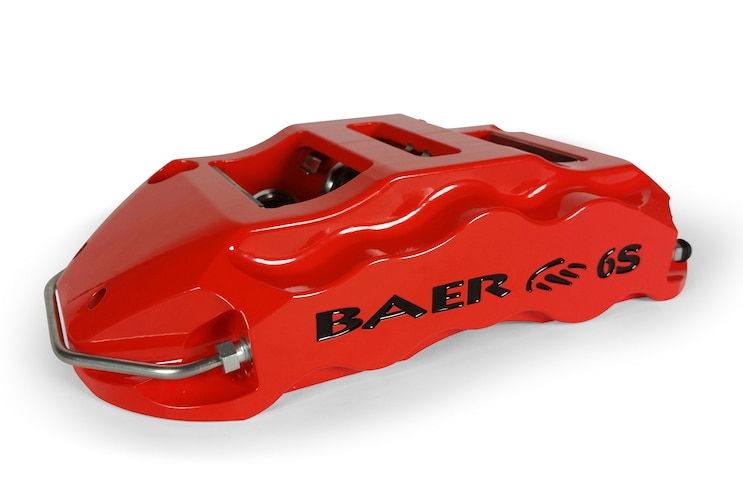 Truckin New Products Baer 6 Piston Caliper 002