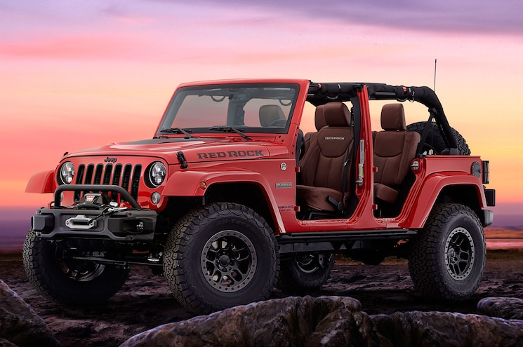 UPDATED: Jeep Announces Very Limited Run of Wrangler Red Rock Edition