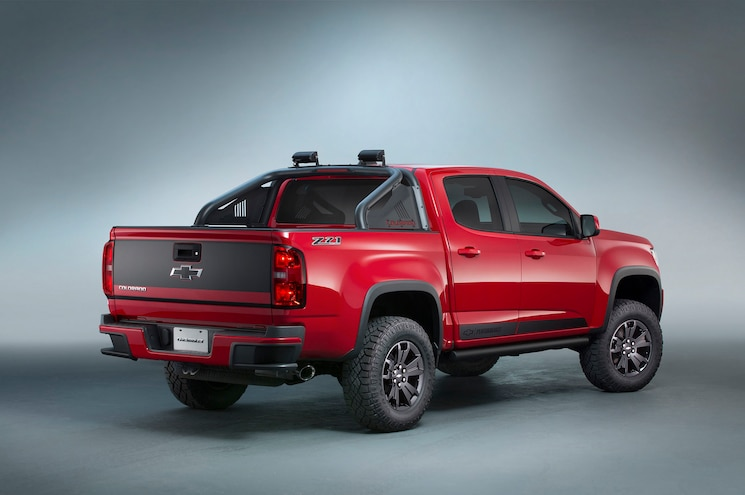 2016 Chevrolet Colorado Z71 Trail Boss 3.0 Rear Look