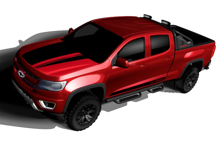 2016 Chevrolet Colorado Z71 Trail Boss 3.0 SEMA